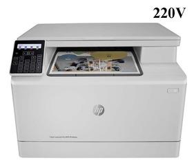 Impressora Hp Laserjet Pro M180nw 220v Multif. Pront Entrega