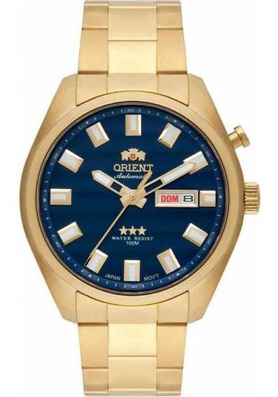 Relógio Orient Analógico Automático 469gp076 D1kx Dourado