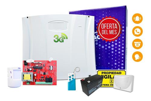 Alarma Domiciliaria Inalambrica H210 Gsm/sms Led Control 1 A