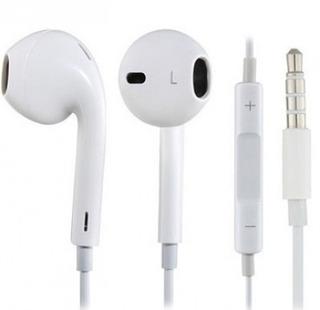Auricular Brobotix - Dentro De Oído, Color Blanco, Alámbri