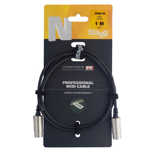 Cable Midi Stagg Nmd1r 1 Mtr