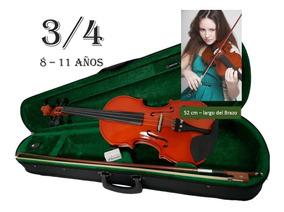 Violin 3/4 Con Estuche Precio Promocional