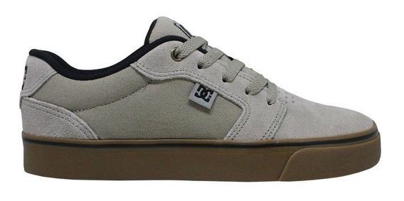 Tênis Dc Shoes Anvil Grey Gum