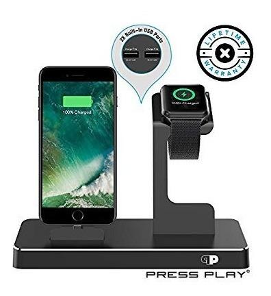 Cargador Para Apple Watch Smart Watch, iPhone, iPod
