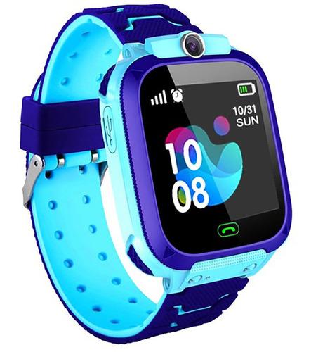 repetición Alabama Oficiales  Reloj Niño Gps Localizador Inteligente Smart Watch Z5 Azul | Mercado Libre