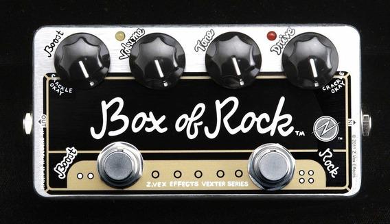 Pedal Zvex Box Of Rock - Zerado