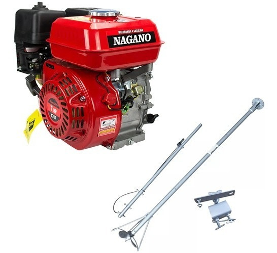 Motor Barco 7 Hp Bote - 4t Popa + Rabeta Completa 1.70mt