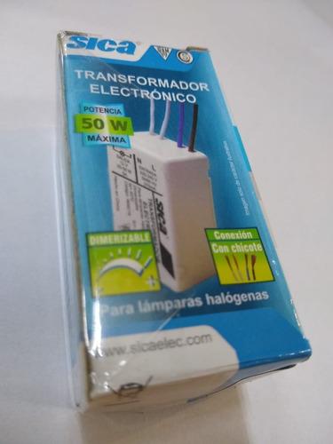 Transformador Electronico 12 V 50 W Dicroica O Bi Pin