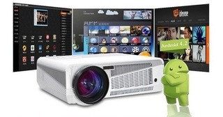 Proyector Led 86+ Tv+ Wifi+ Android 240 Pulgadas