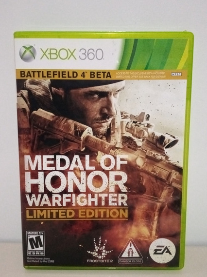 Medal Of Honor Warfighter Limited Edition Xbox 360 Original