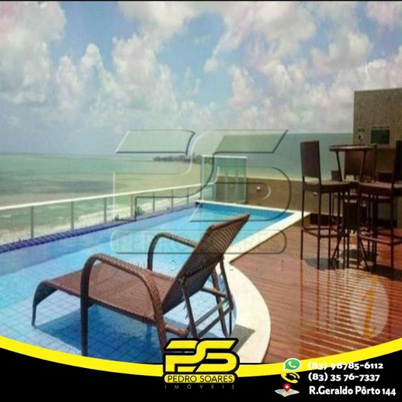 Flat Com 1 Dormitório Para Alugar, 21 M² Por R$ 1.550/mês - Intermares - Cabedelo/pb - Fl0069