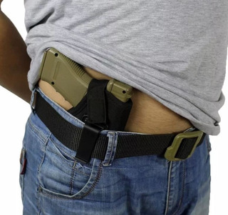 Coldre Velado Cintura Revolver E Pistola