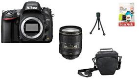 Nikon D610 + 24-120mm + 32gb + Bolsa + Tripé Sem Juros