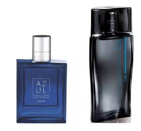 Combo Perfumes Jequiti Cauã Reymond Azul + Luan Santana Vip