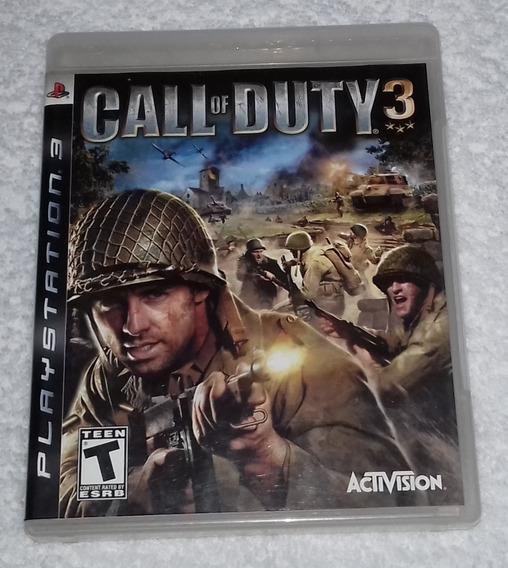 Call Of Duty 3 Ps3 Leia O Anuncio *** Leia