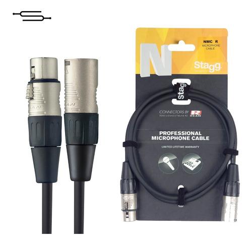 Cable Xlr (cannon) Neutrik Stagg Microfono - 10 Metros