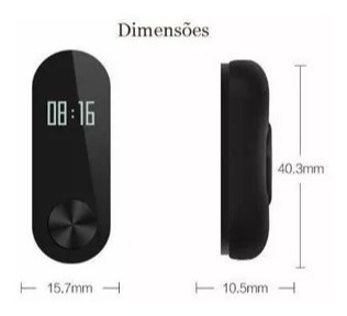 Pulseira Inteligente Relógio Smartwatch Xiao Mi