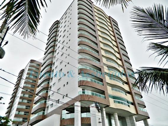 Apartamento No Jardim Luciana Em Mongaguá, Frente Para O Mar, 03 Dormitórios Sendo 01 Suíte, 02 Vagas De Garagem. Lazer Completo. - Ap01903 - 67727125