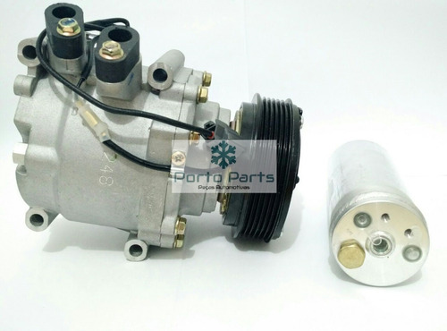 Imagem 1 de 3 de Compressor Ar Cond Honda Civic 2001 A 2006 + Filtro Secador