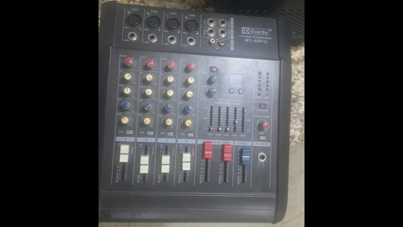 Consola Amplificada De 4 Canales Marca Guarda Original.