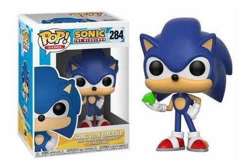 Funko Pop! Sonic The Hedgehog Sonic With Emerald