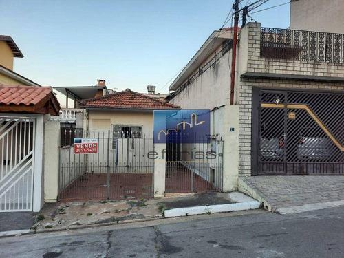 Imagem 1 de 1 de Casa Com 2 Dormitórios À Venda Por R$ 370.000,00 - Cidade Patriarca - São Paulo/sp - Ca0371