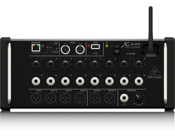 Mixer Digital X Air Behringer Xr16 Ios/pc/android16in/6out