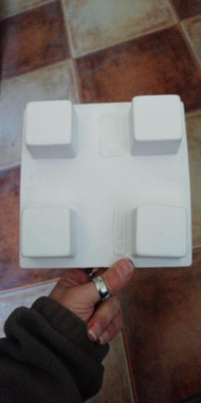 Moldes Plasticos Cubo 4x4x4 Para Jabon/velas/chocolate