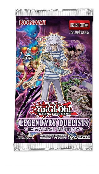 Yu Gi Oh Legendary Duelists Immortal Destiny Booster Pack