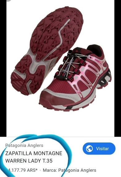 Zapatillas Mujer Montagne Warren