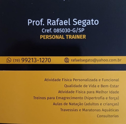 Treinamento Customizado Personalizado