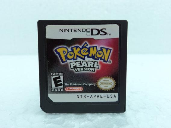 Pokemon Pearl Version - Só A Fitinha - Ótimo Estado
