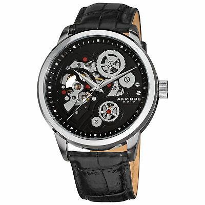Reloj De Pulsera Akribos Xxiv Classic Para Hombre Ak538bk