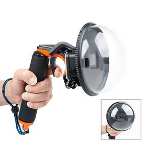 Dome Diving Camera Cover Set Com Habitação À Prova D