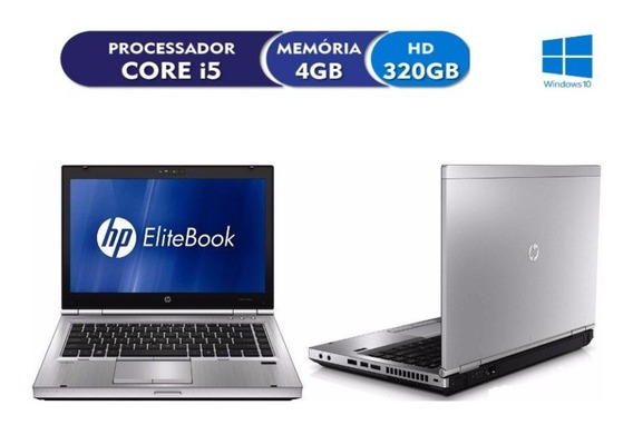 Notebook Hp Elitebook 8460p I5 2.50ghz 4gb Hd 320 Usado