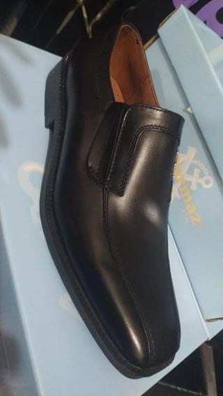 Zapatos Hombre Cuero Art 1143 39 Al 45 G