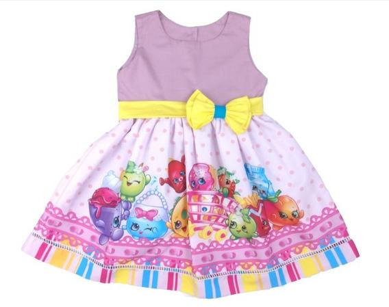 Vestido Shopkins