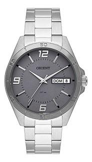 Relógio Masculino Orient Puls Aço 50m Ref. Mbss2026-g2sx