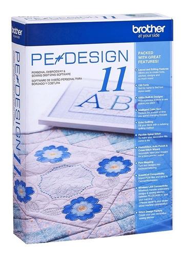Software De Bordado Pe Design 11 Para Bordadoras Brother