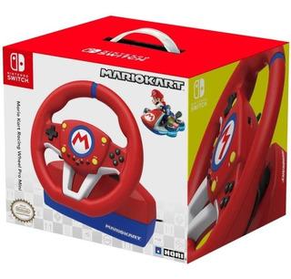 Volante Pro Mario Kart Deluxe Nintendo Switch Pedales Nuevo