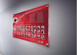 Placa Mural De Formatura - Em Acrílico - 50 X 70cm