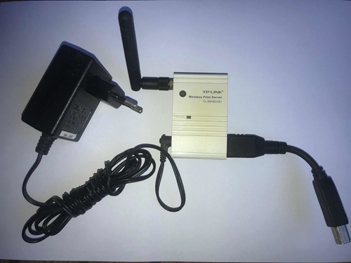 Imagem 1 de 8 de Print Server Wireless Tp-link Tl-wps510u Servidor Impressora