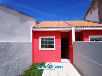 Casa Para Venda No Campo De Santana Em Curitiba - Pr - 418