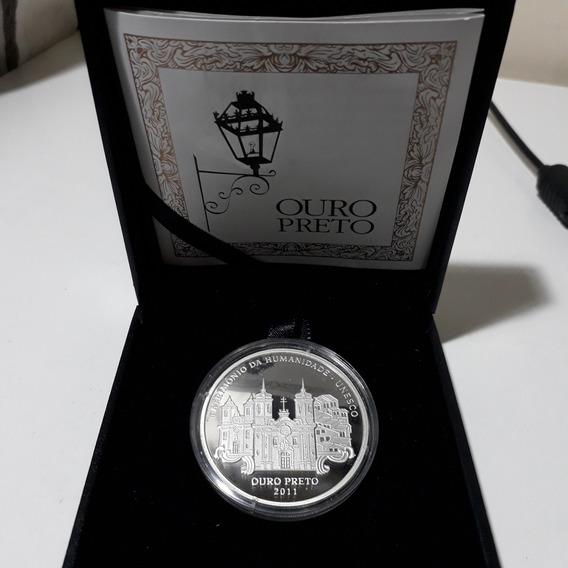 Moeda Comemorativa Ouro Preto 12xs/juros
