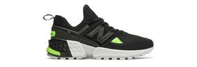Tênis New Balance 574 Preto/verde/branco
