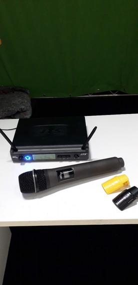 Microfone De Mão Sem Fio Jts