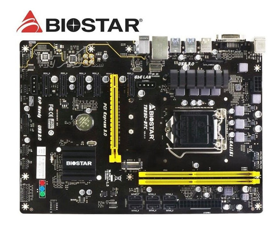 Placa Mãe Biostar Tb250-btc -ddr4- Slot 1151 Nova / Lacrada