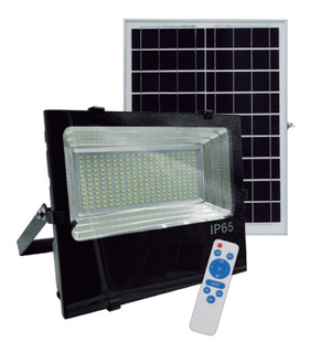 Proyector Reflector Solar Autónomo 60w C/panel Fotovoltaico