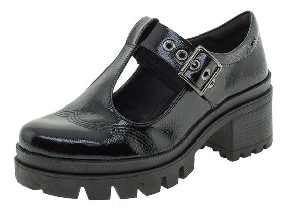 Sapato Feminino Salto Baixo Dakota - G1352 Preto