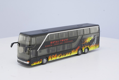 Brekina 58204-1//87 Setra s 12 autobús chocó-rojo//marfil-nuevo